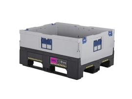 MAGNUM Optimum 595 S - inklapbare palletbox - 1200 x 1000 mm