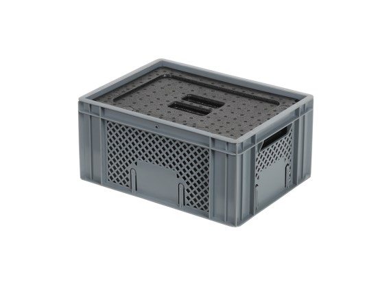 Isolatiebox-in-box met deksel - 400 x 300 x H193 mm - stapelbaar 30.020I