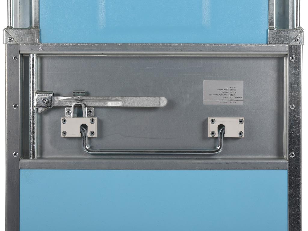 Conteneur isotherme neutre 720 litres euronorm for Porte isotherme interieur