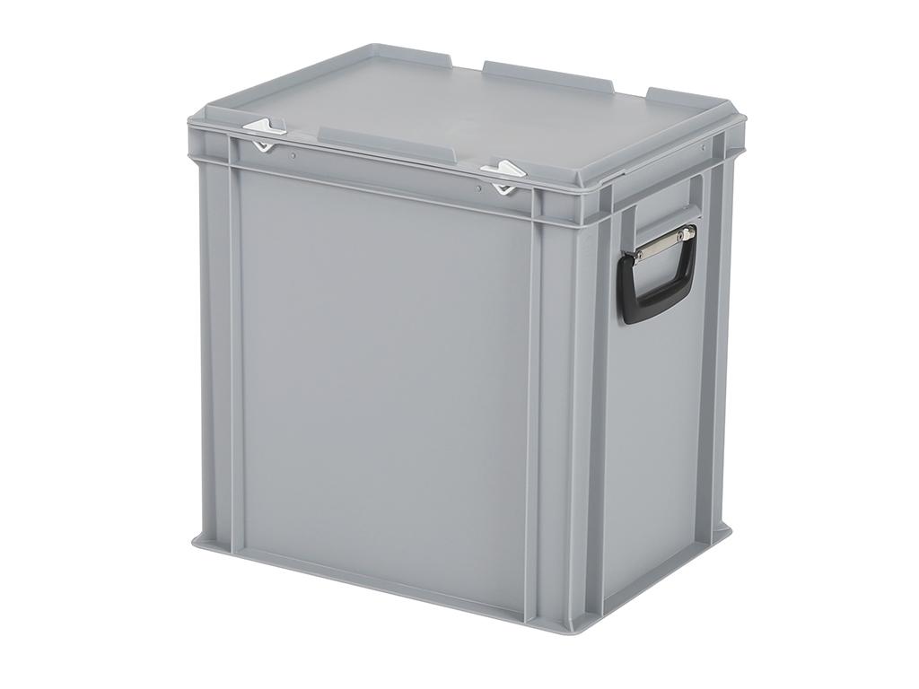 sélection premium fc144 66d24 Valise SOLID LINE - 400 x 300 x H 415 mm - Gris - bac ...