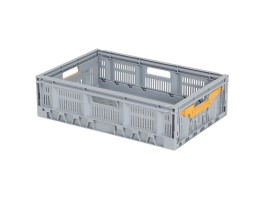 Caisse pliante FRESH BOX - 600 x 400 x H 172 mm